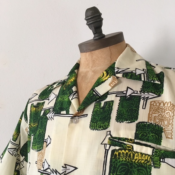 fe7b14a0 Tropicana Shirts | Vintage Hawaii Mod Retro Tiki Shirt | Poshmark
